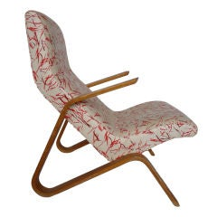 Eero Saarinen Grasshopper Chair with Vintage Knoll Fabric