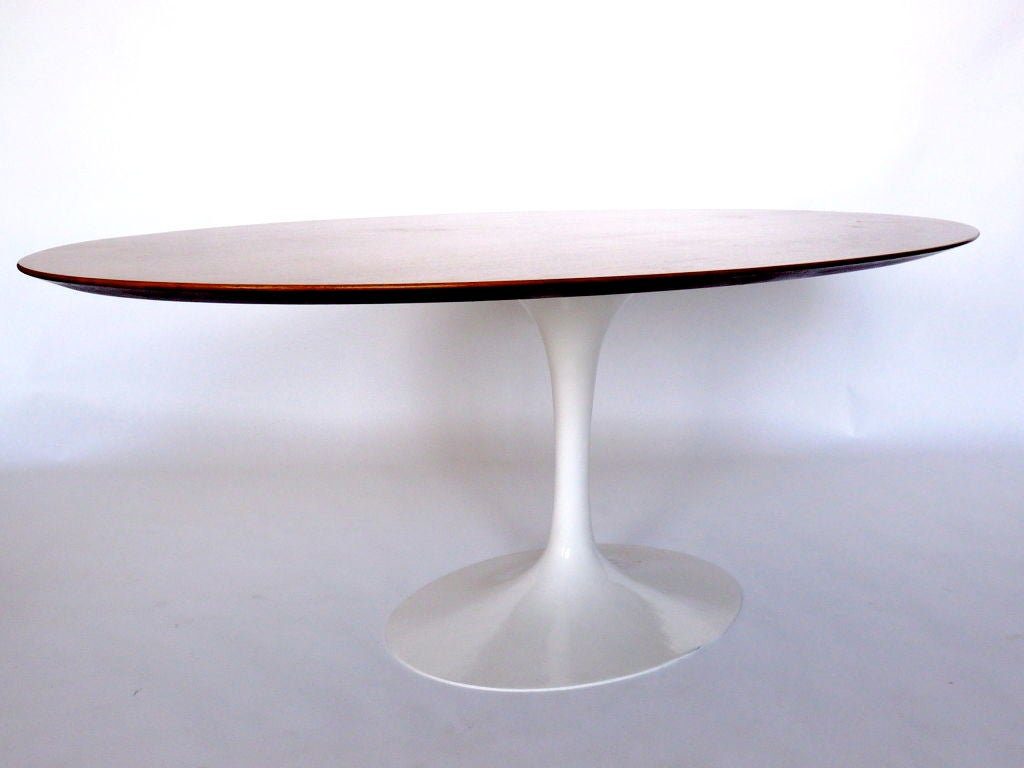 Table knoll ovale vintage id e inspirante for Acheter table basse