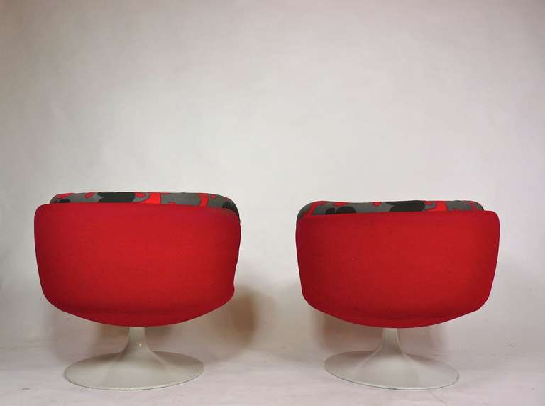 Vintage 1970s Swedish Pop Chairs In Good Condition For Sale In Pelham, MA