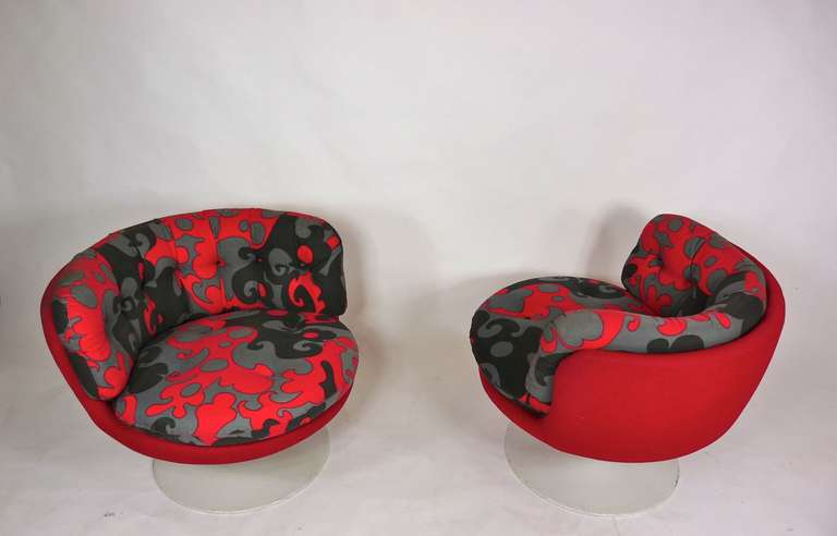 20th Century Vintage 1970s Swedish Pop Chairs For Sale