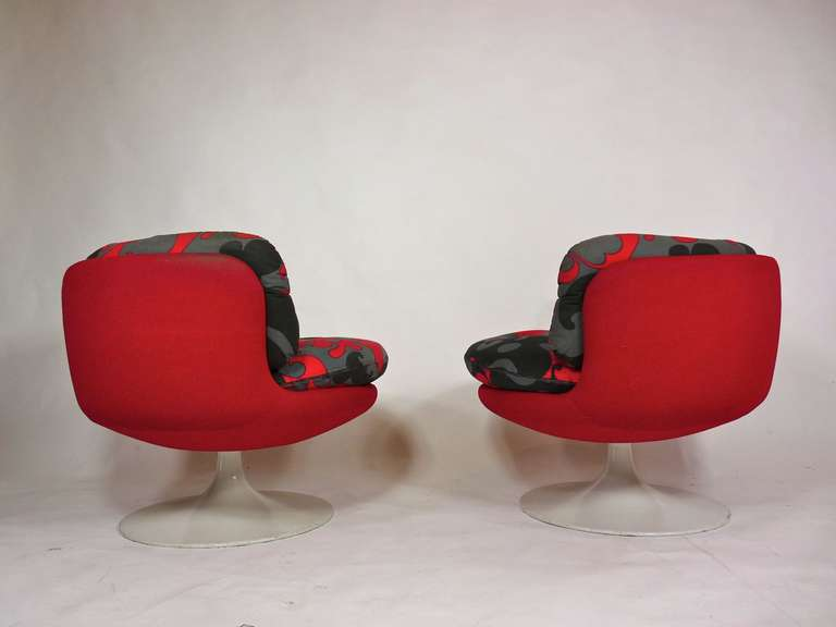Metal Vintage 1970s Swedish Pop Chairs For Sale