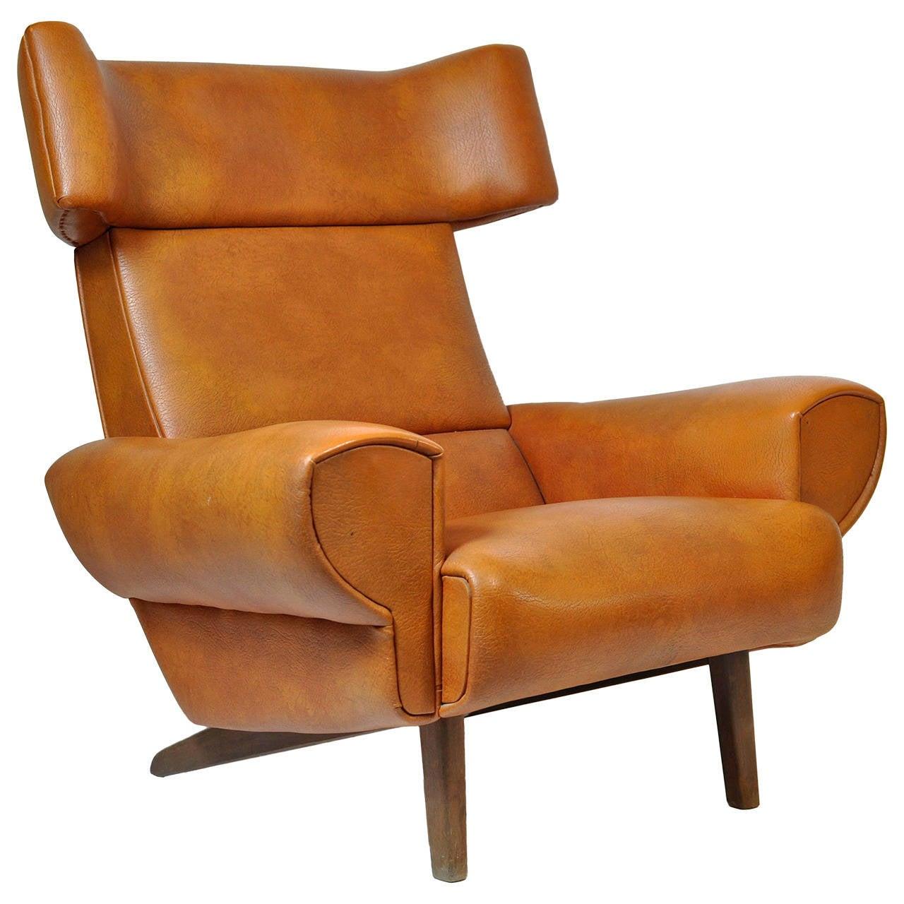 1970s Danish Lounge Chair At 1stdibs