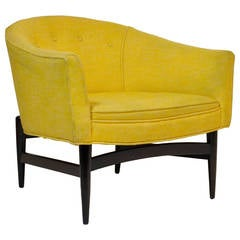 Petite Lounge Chair Designed by Lawrence Peabody