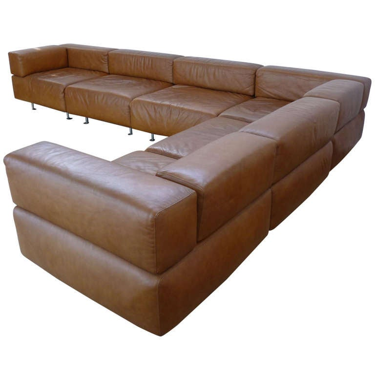Harvey Probber Leather Sofa at 1stdibs : 1128876l from www.1stdibs.com size 768 x 768 jpeg 34kB
