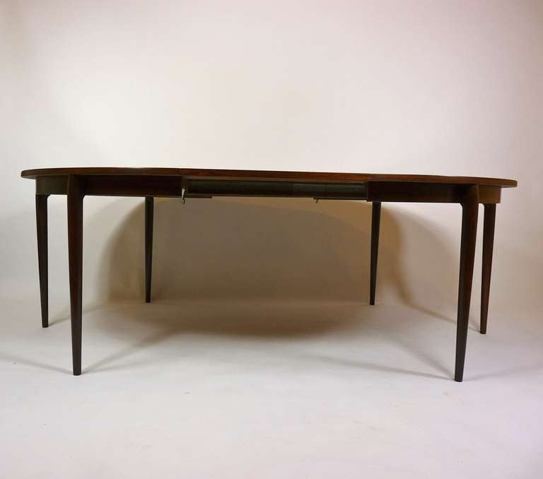 danish rosewood dining table at 1stdibs