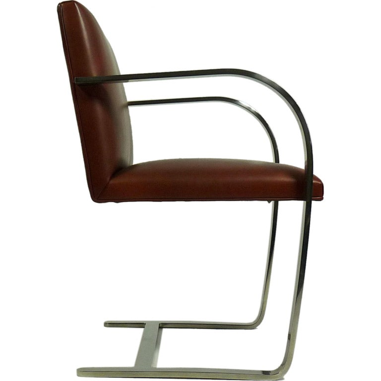 mies van der rohe for knoll brno chair at 1stdibs