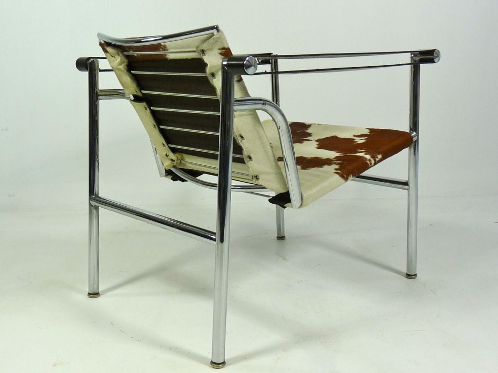 LC1 Sling Chair By Le Corbusier Mfg. By Cassina For Sale 1