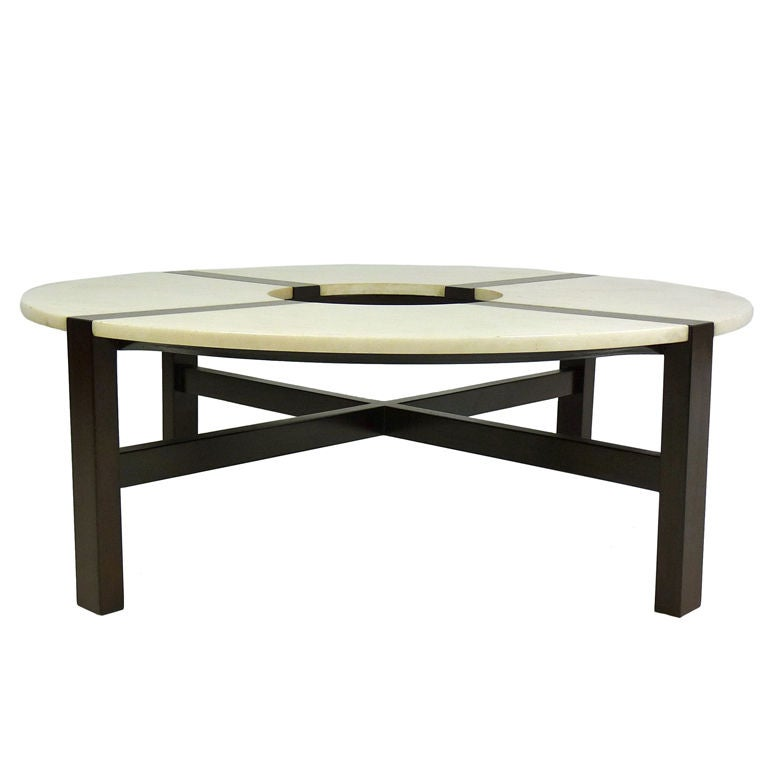 Rare Edmund J Spence Coffee Table At 1stdibs