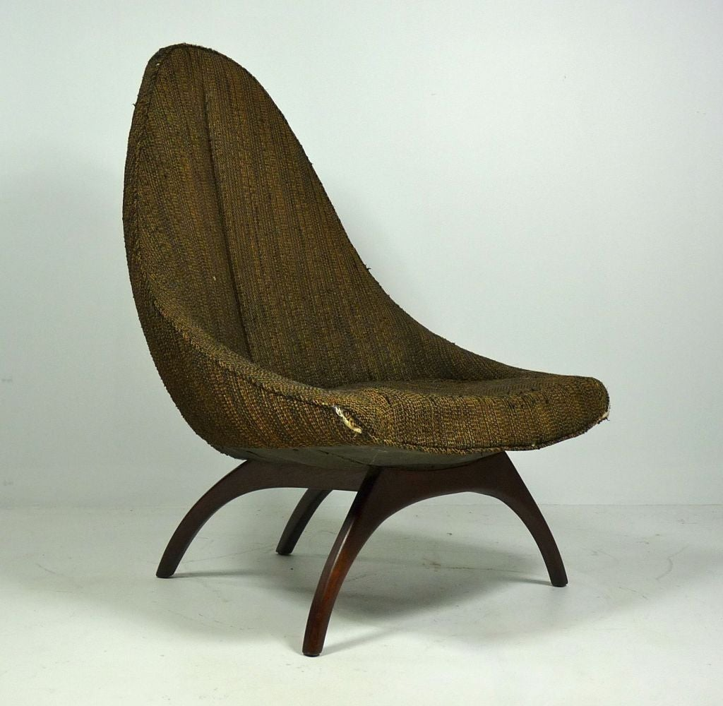 Unique Chair: Unique Sculptural Lounge Chair At 1stdibs