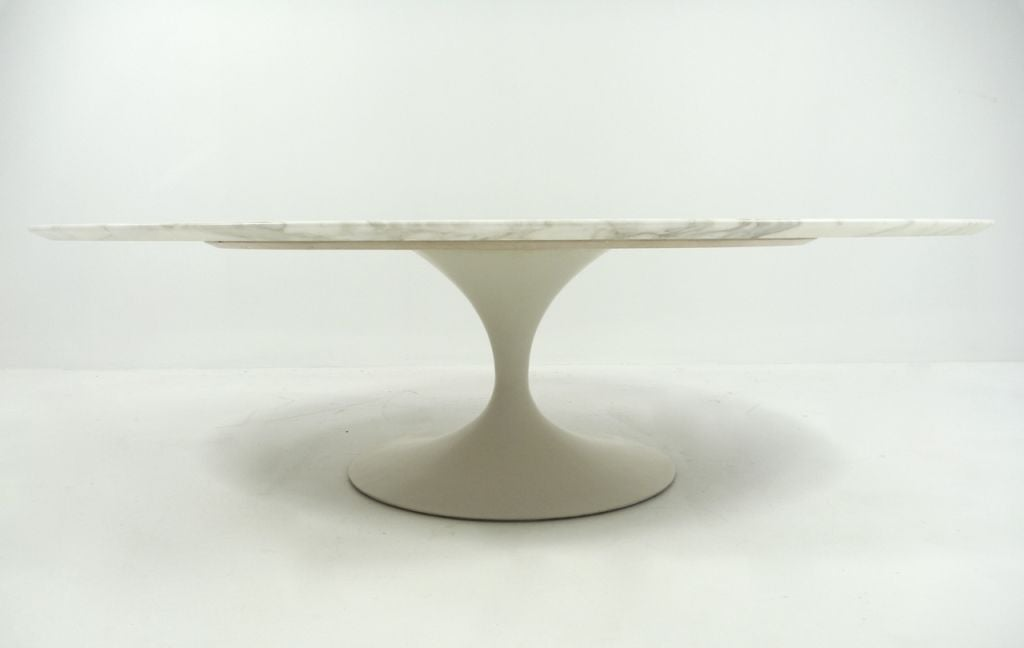 Eero Saarinen For Knoll Marble Top Coffee Table At 1stdibs