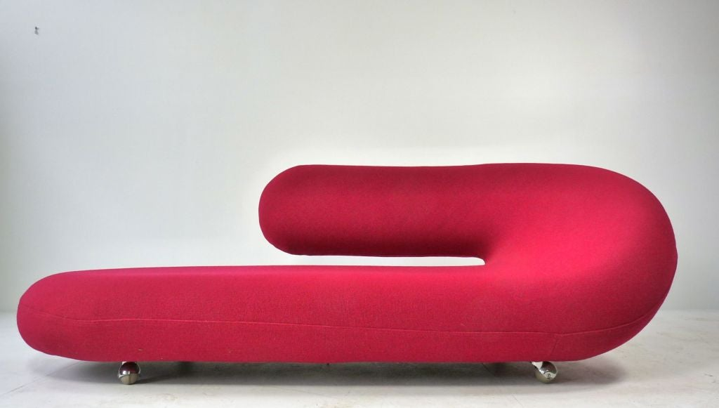 Cleopatra chaise by geoffrey harcourt for artifort at 1stdibs for Artifort chaise longue