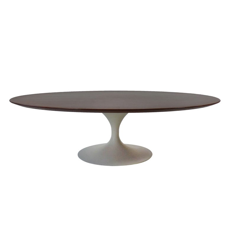 Eero Saarinen For Knoll Wood Top Coffee Table At 1stdibs
