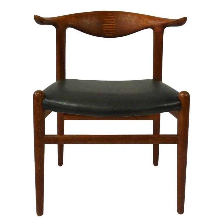 Hans Wegner Cow Horn Chair 1