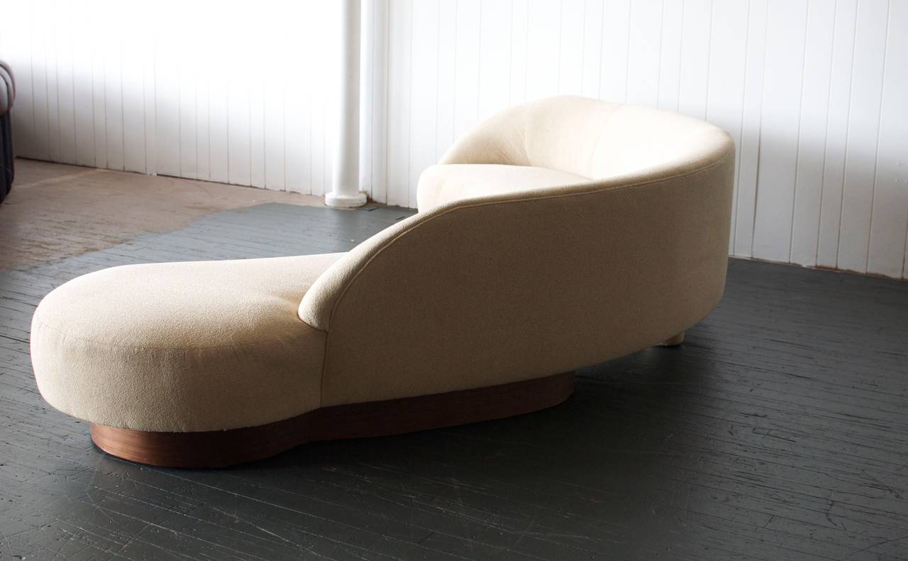 Large Serpentine Sofa by Vladimir Kagan for Directional 5