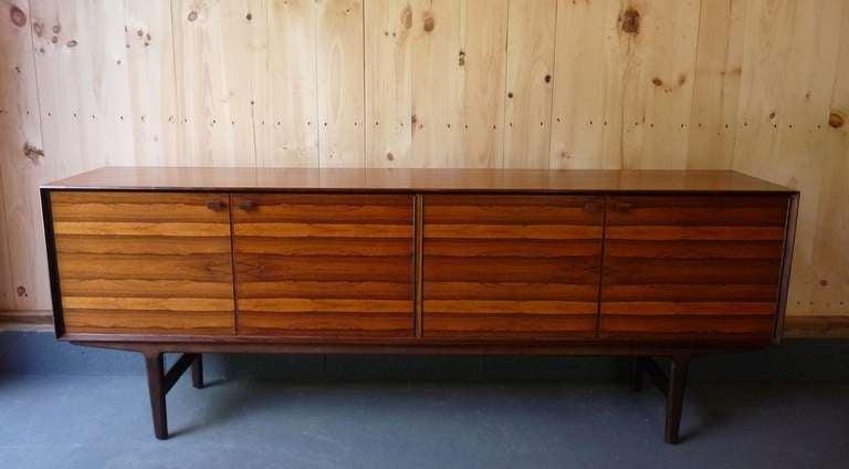 Danish Rosewood Credenza : Danish rosewood credenza at stdibs