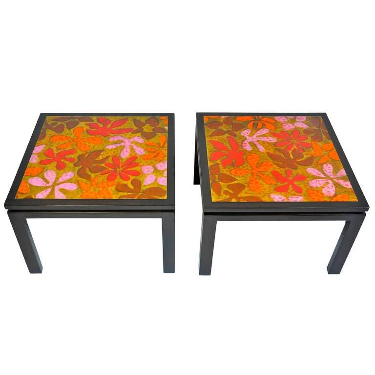 Harvey Probber Side Tables For Sale