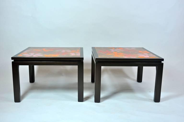 Mid-Century Modern Harvey Probber Side Tables For Sale