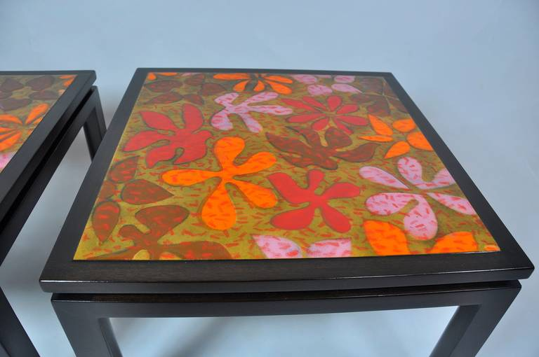 Harvey Probber Side Tables In Good Condition For Sale In Pelham, MA