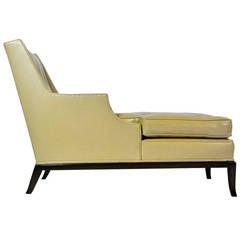 Rare Chaise by T. H. Robsjohn-Gibbings