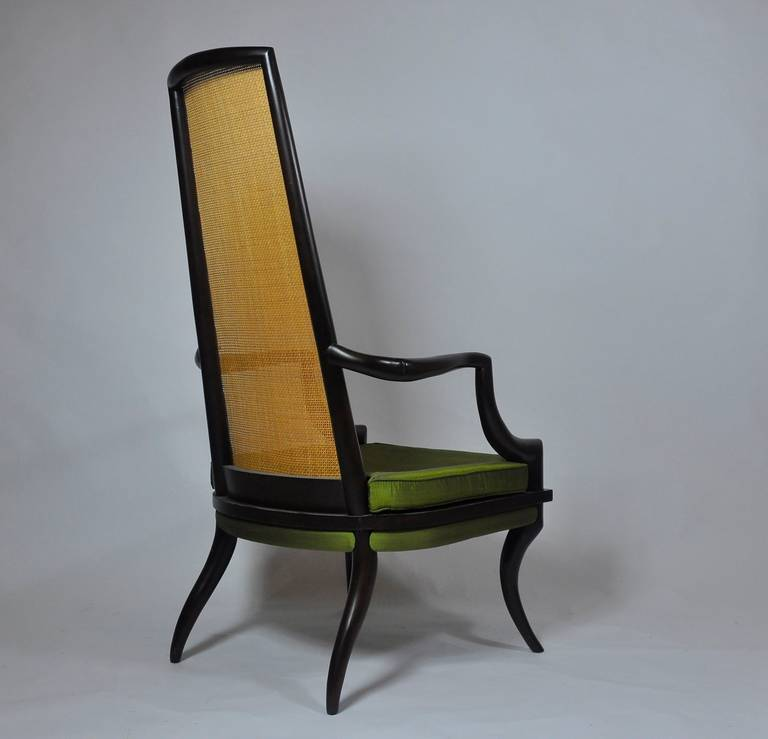 Unusual Furniture For Sale: Unique Sculpted Tall Back Chair For Sale At 1stdibs