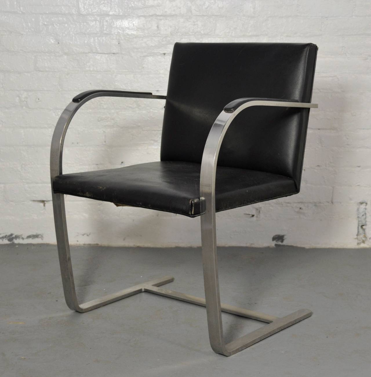 Delicieux American Vintage Pair Of Knoll Brno Chairs For Sale