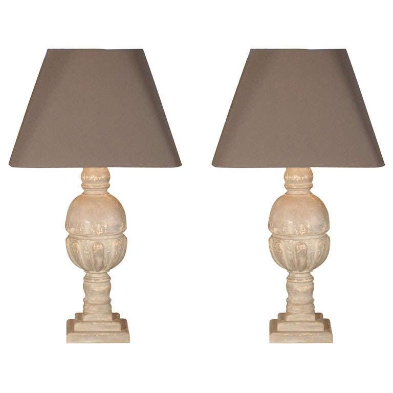 elizabethan lamp made from reclaimed antique wood at 1stdibs. Black Bedroom Furniture Sets. Home Design Ideas