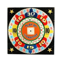 Giant Wheel of Chance Carnival Midway Game Board