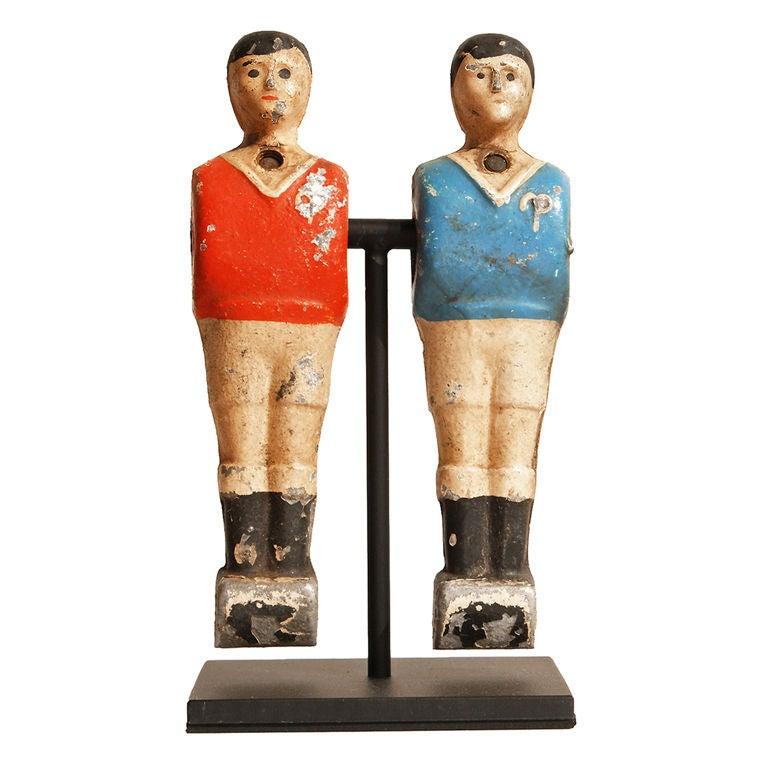 Vintage Foosball Player Pairs At 1stdibs