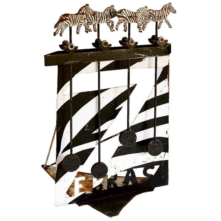 Iron Perpetual Motion Folk Art Texas Zoo
