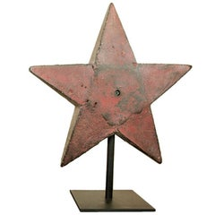 Halladay H37 Star Red Windmill Weight
