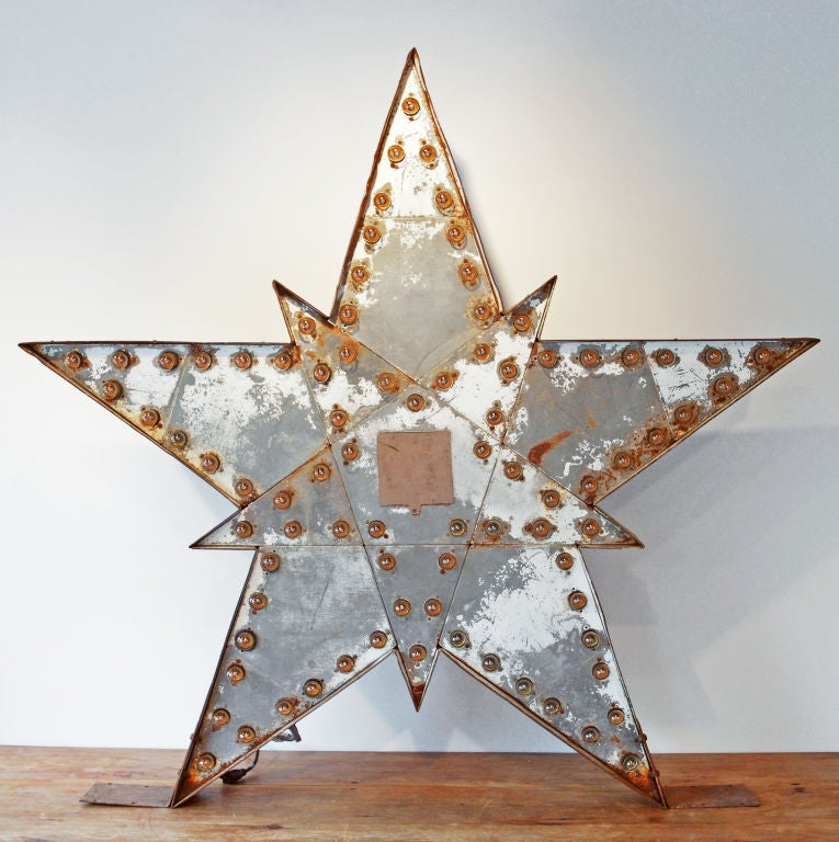 Massive Lighted Roadside Star Sign 5