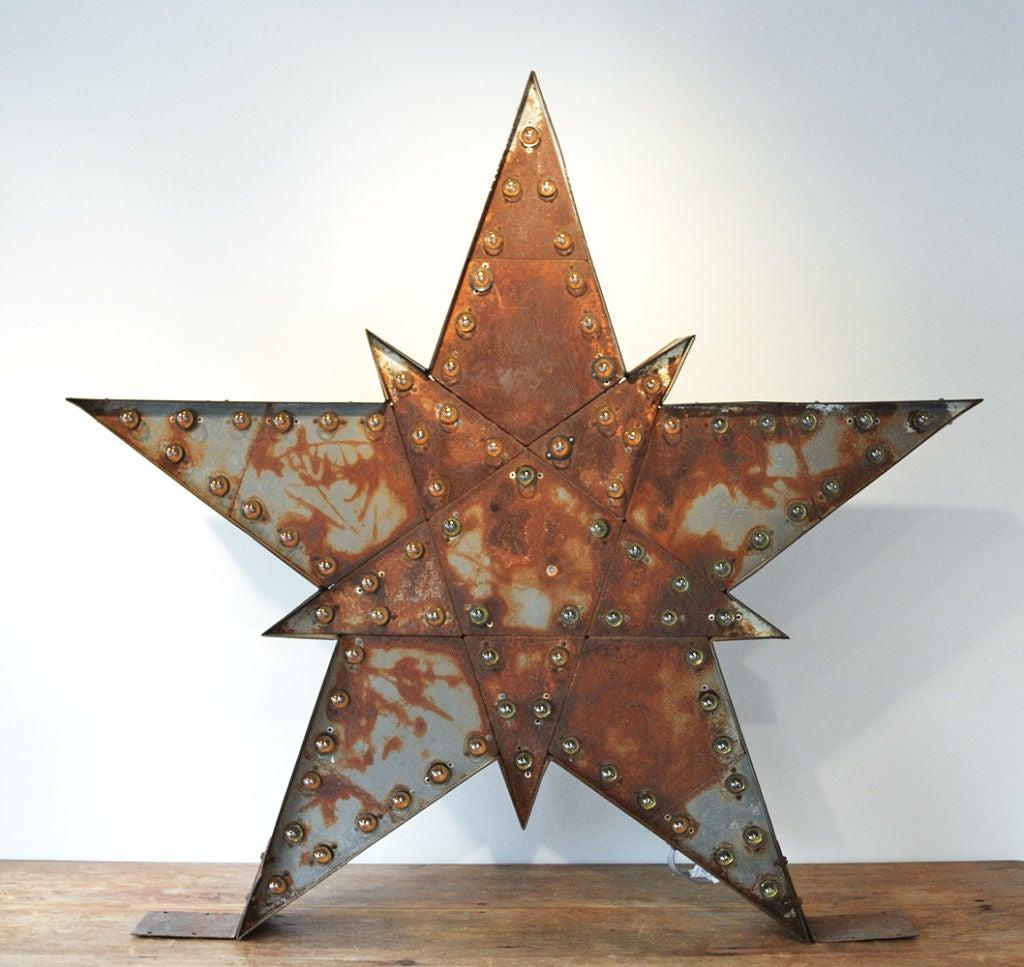 Massive Lighted Roadside Star Sign 7