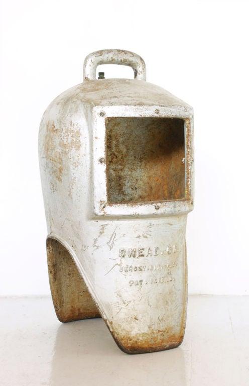 Cast Iron Diver's Helmet, circa 1900s 2