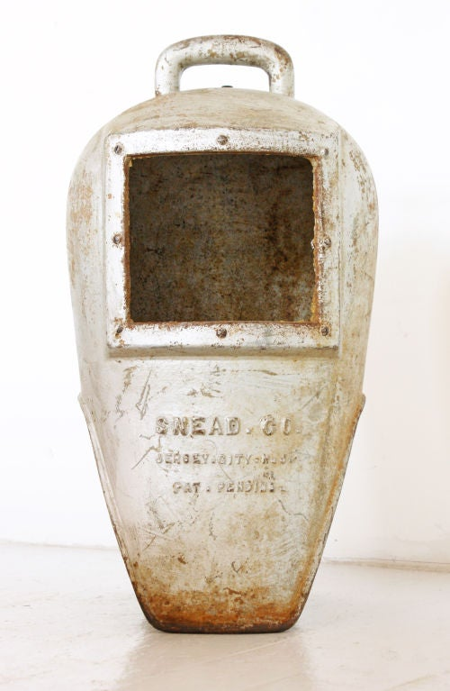 Cast Iron Diver's Helmet, circa 1900s 5