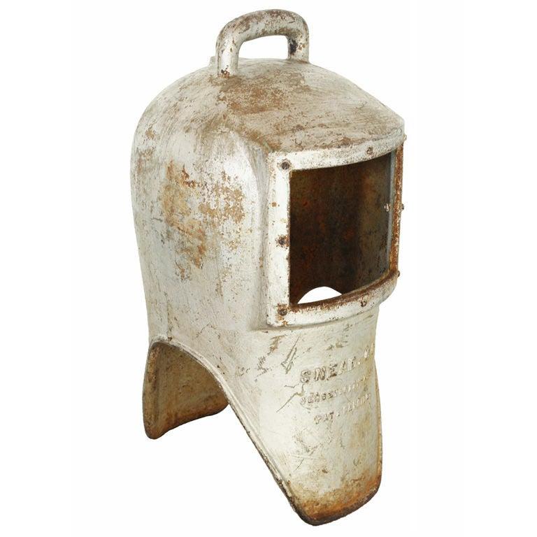 Cast Iron Diver's Helmet, circa 1900s