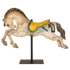 Carousel Horse Hand Carved Early 20th Century