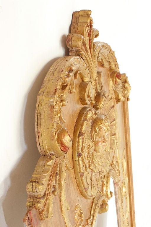 Ornate American Carousel Shield Mirror Frame At 1stdibs