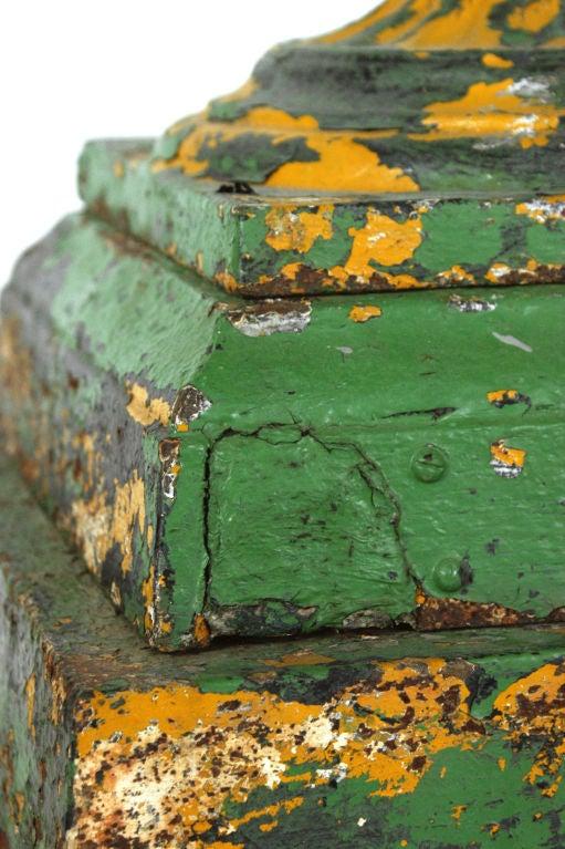 Late 19th Century Five Piece Cast Iron Urn 4