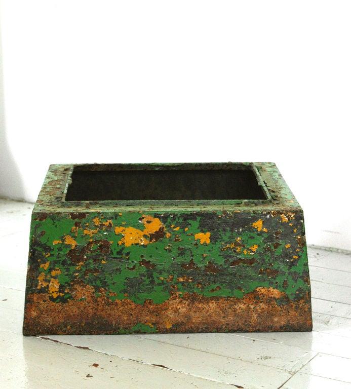 Late 19th Century Five Piece Cast Iron Urn 5
