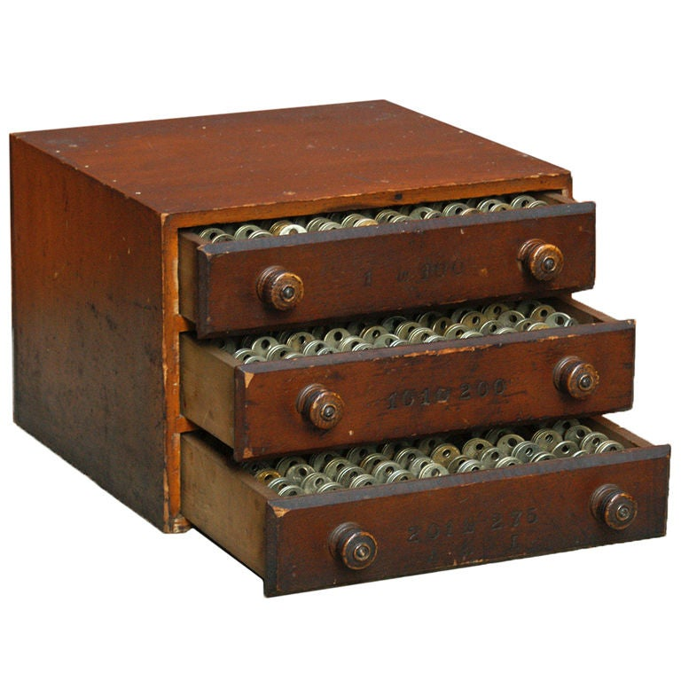 Collection Of Yale Keys In Key Storage Box At 1stdibs