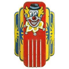 Clown Carousel Light, circa 1940s