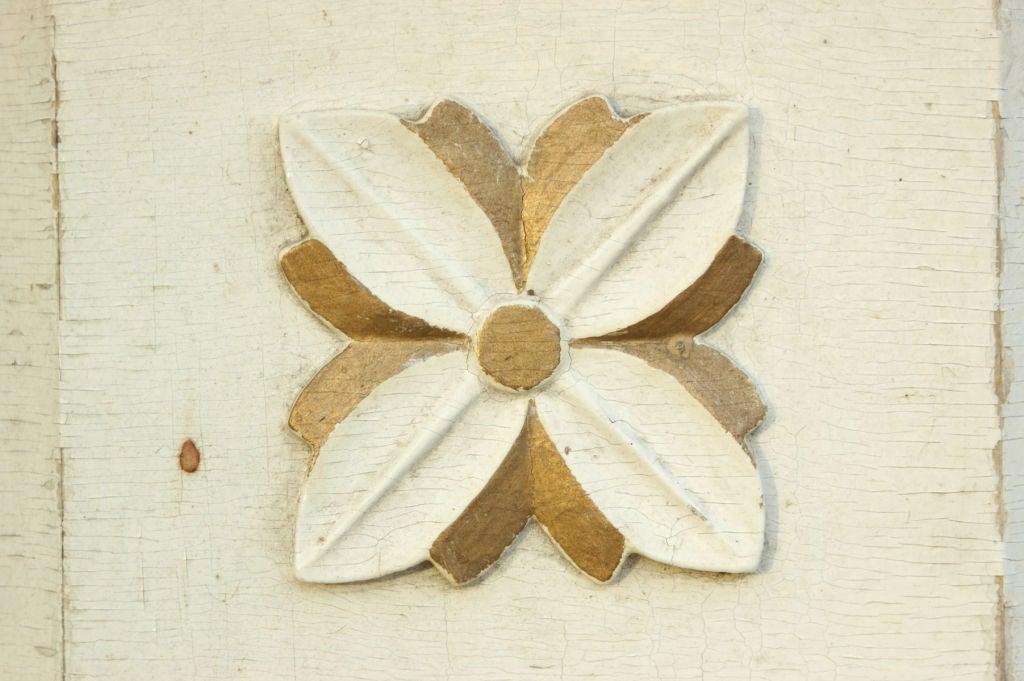 Folk Art Hand-Carved Birch Base Planter or Font For Sale