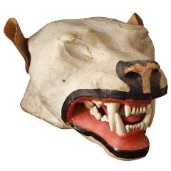 Vintage Taxidermy Head Mount