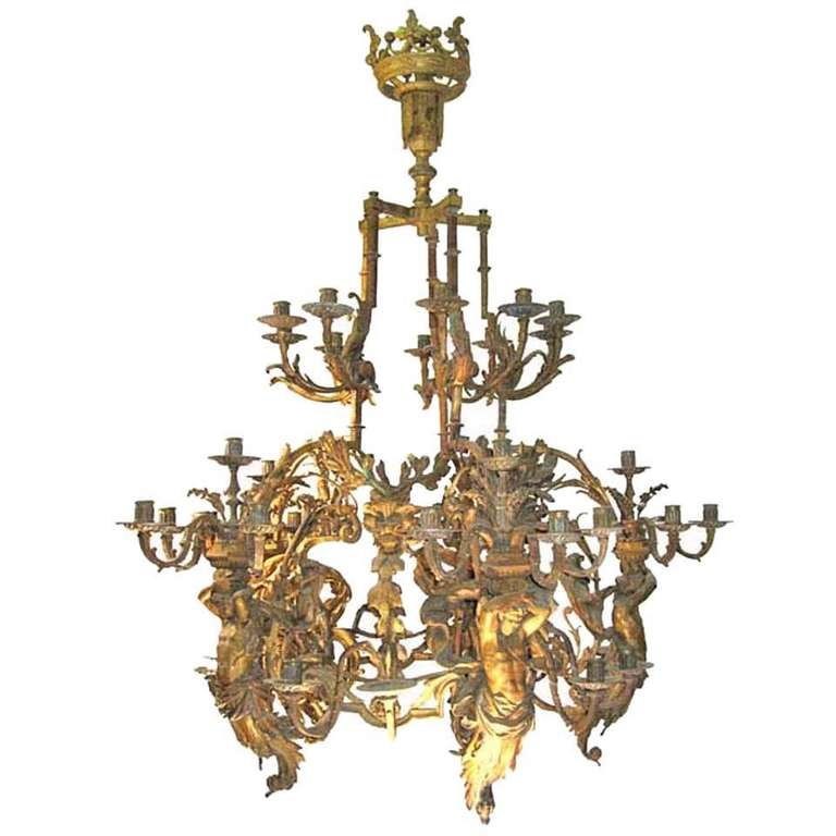 Massive Louis Xvi Chandelier At 1stdibs
