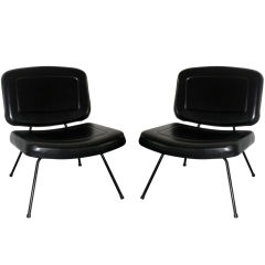 Pair of Chairs by Pierre Paulin