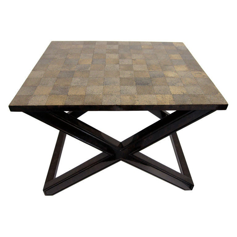 Lacquer and Eggshell Tables