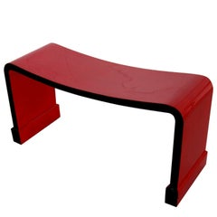 Bench in Lacquer