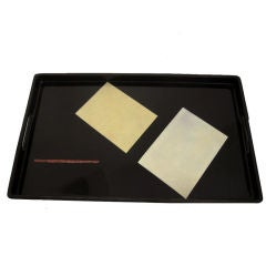 Lacquer and Eggshell Trays