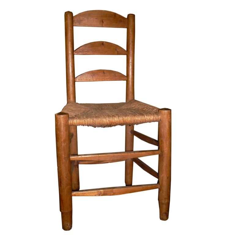 country french 19c rush seat chairs set of 6 at 1stdibs