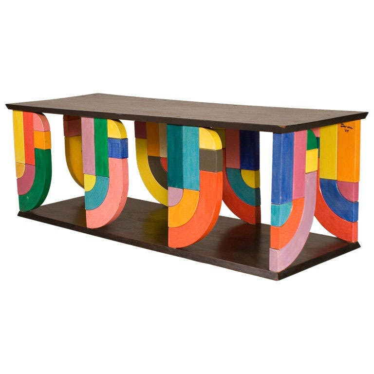 Coffee Table in Pop-Art Form For Sale